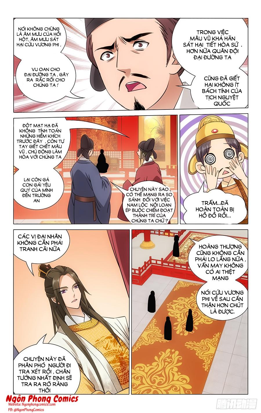 Vương Gia Không Nên A Chap 62 - Trang 11