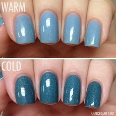 nail polish that changes color in the sun