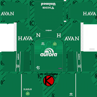 Chapecoense 2018/19 Kit - Dream League Soccer Kits