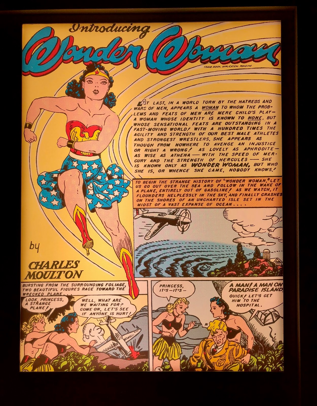First Wonder Woman Cover
