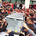 10 imagens da festa da Nação para receber o Diego no aeroporto