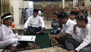 Shalawat, Berdoa dan Khatamul Quran Bersama Kapolda Kalbar