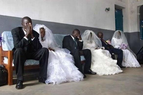 Di Negara Ini, Suami-Istri yang Ingin Bercerai Harus Pakai Baju Pengantin Saat Resepsi Dulu