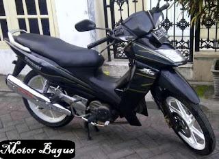 Harga motor kawasaki ZX 130 bekas/second lengkap