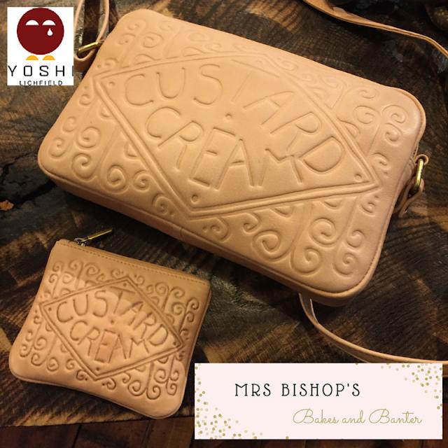Leather Custard Cream Bag & Purse from Yoshi