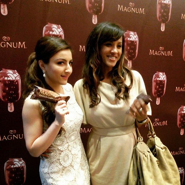 magnum , cappucci no , soha ali khan , magnum lover ,, Soha Ali Khan Latest Hot Pics From Magnum Events