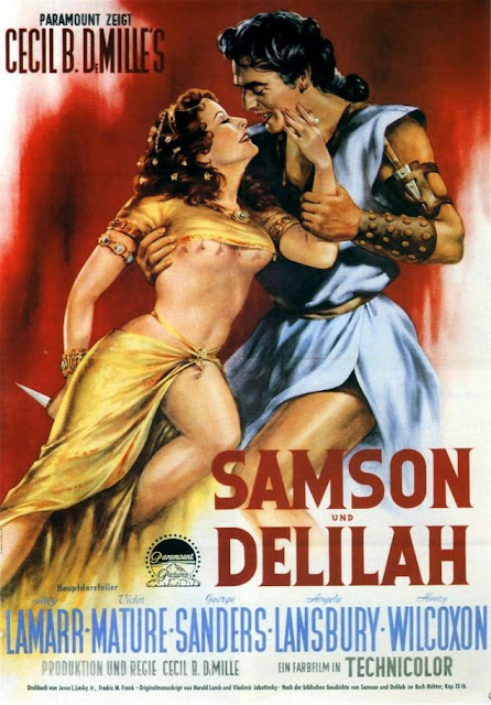 Samson and Delilah (1949) BluRay Subtitle Indonesia