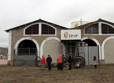 Cocheras cercanas del Centro de Interpretación del Ferrocarril de La Robla