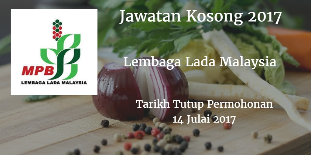 Jawatan Kosong Lembaga Lada Malaysia 12 Julai 2017