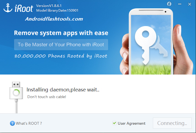 Root Android With iRoot PC