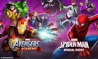 Game Petualangan Marvel Avengers Academy