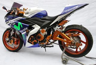 foto modifikasi motor yamaha r25
