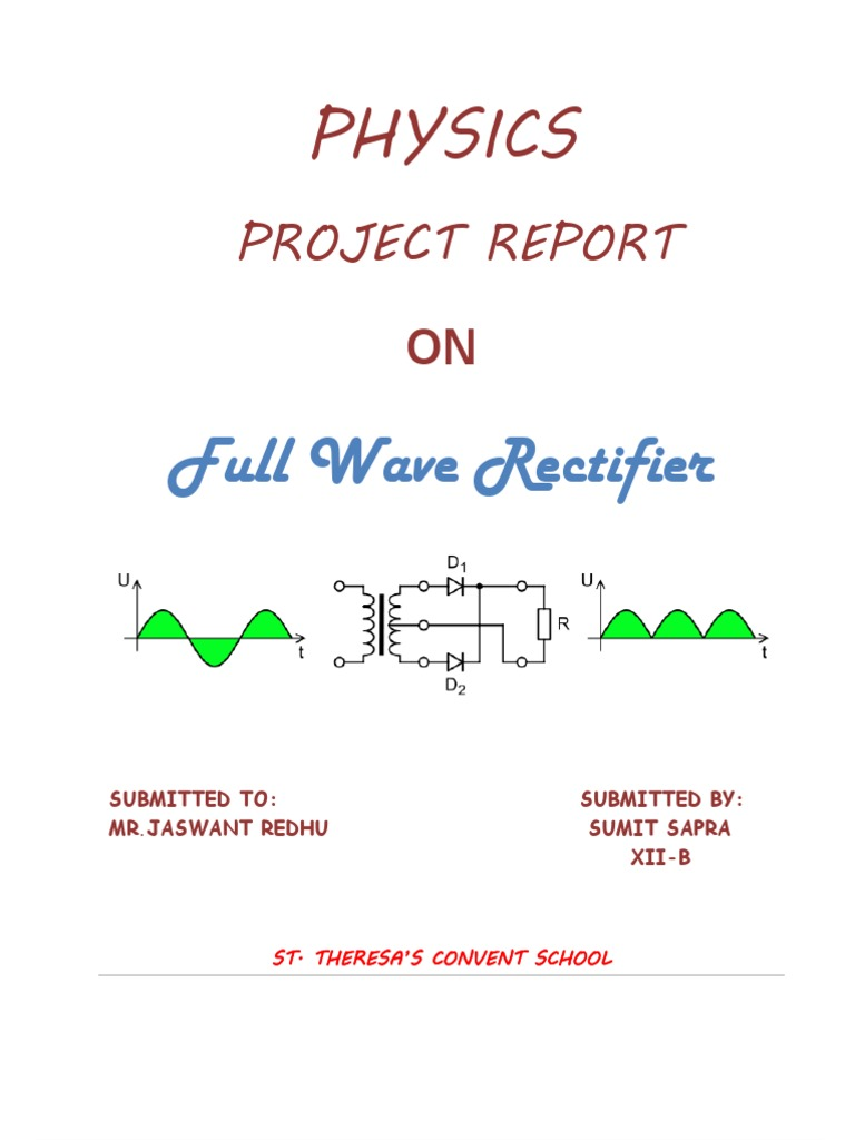 12 pdf wave full project rectifier class