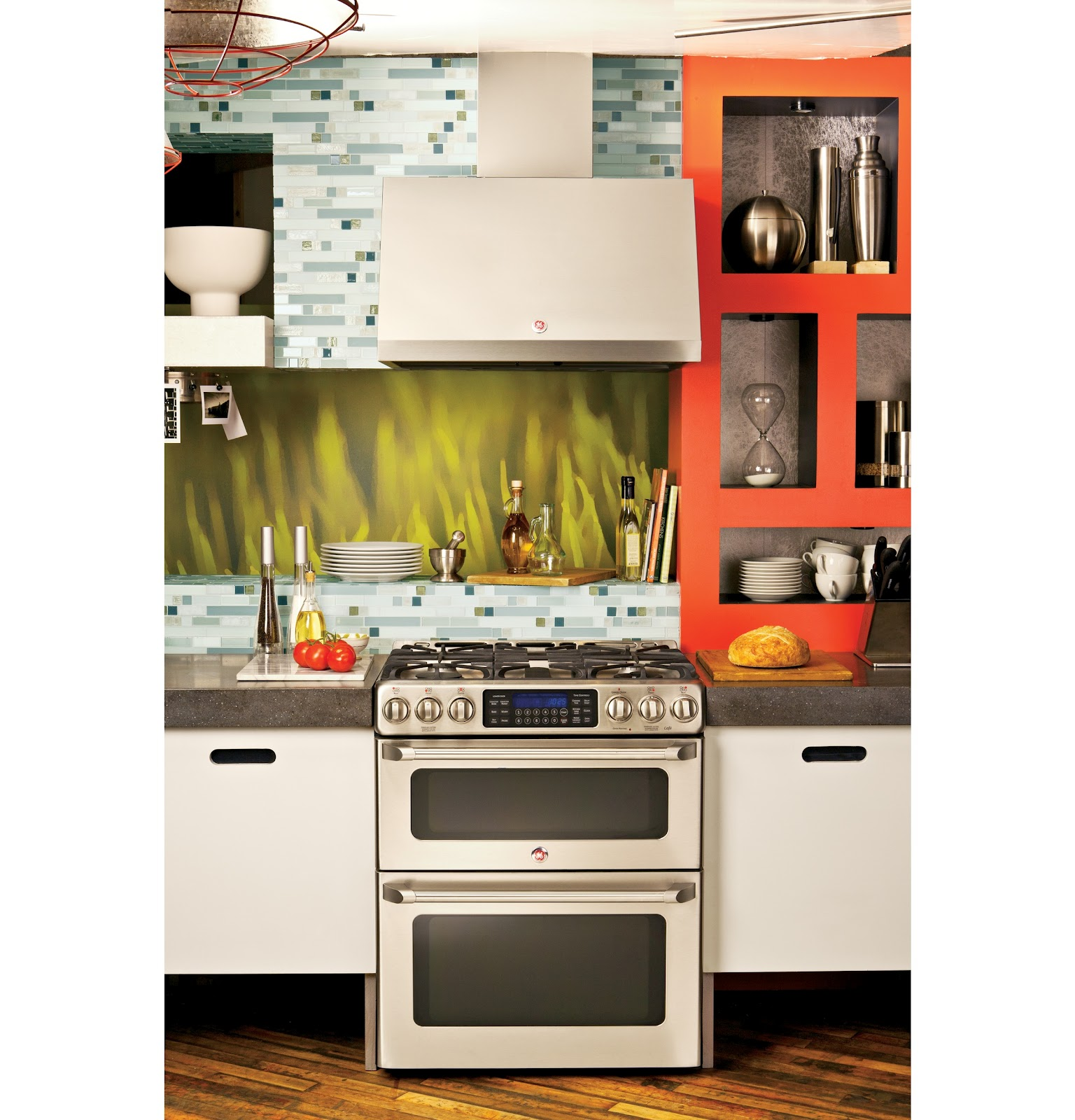 Microwave Conventional Oven Combo The Art of the Kitchen: GE CAFE: A stylish new look for GE ...