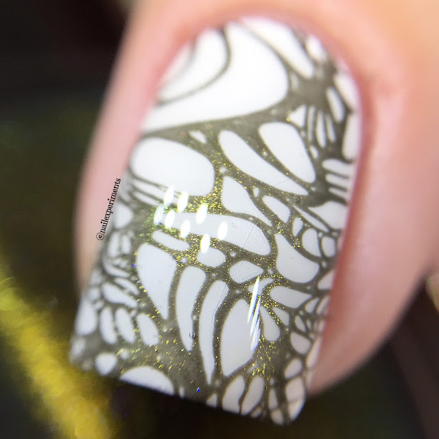 ever after polish picklesworth stamping polish swatch
