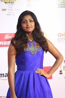 Eesha in Cute Blue Sleevelss Short Frock at Mirchi Music Awards South 2017 ~  Exclusive Celebrities Galleries 026.JPG