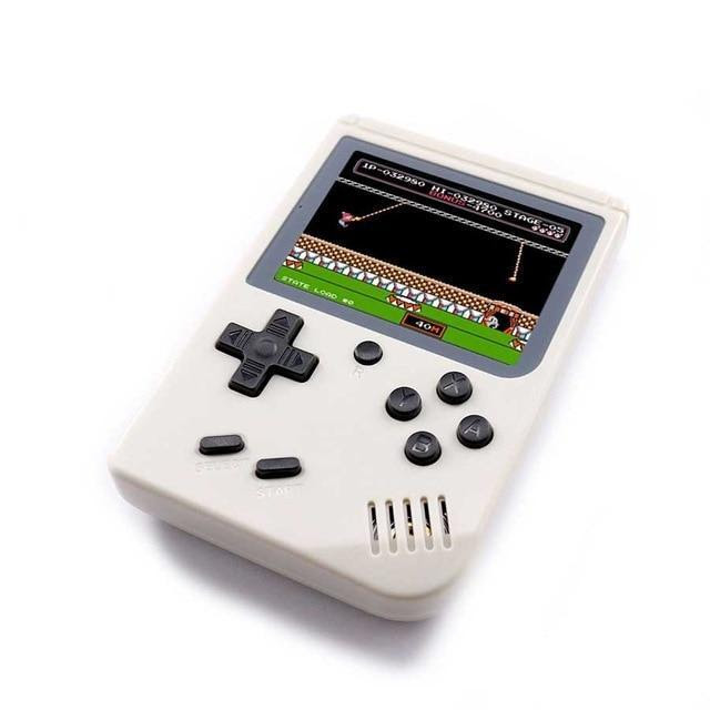 8-Bit Retro Pocket Handheld Game Player with 168 Classic Games Built-In