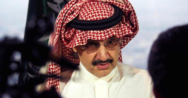 Risultati immagini per Alwaleed Bin Talal Bin Abdulaziz Al Saud arrested