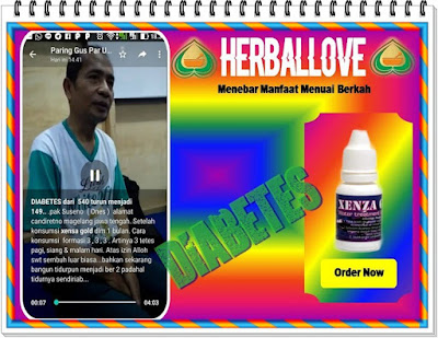 Testimoni Xenza Gold Untuk Diabetes herballove.co