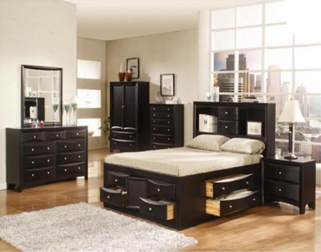 Moderne Woning Ideen Slaapkamer Set  Queen Bedroom Set