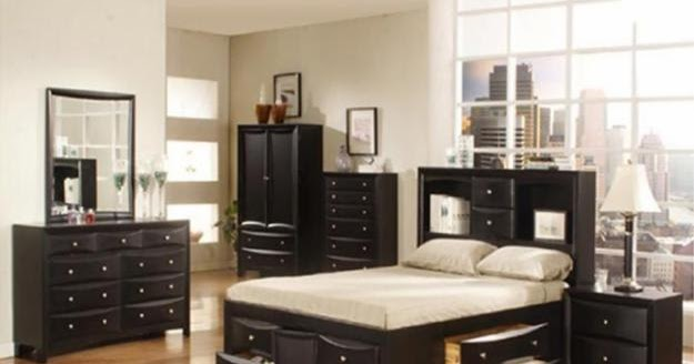 Moderne Woning Ideen Slaapkamer Set  Queen Bedroom Set