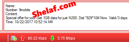 Special Offer: Get 9Mobile 1GB Data For Just N200 or Get 5GB for N1000