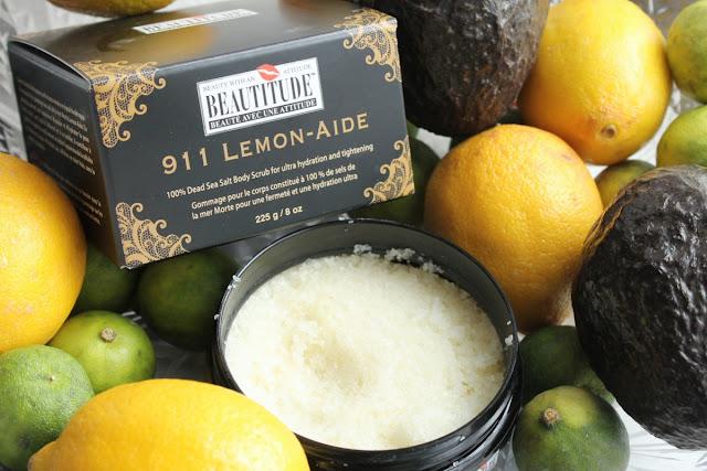 scrub au citron beautitude