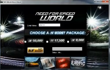 Need for speed world [boost hack] [new 2012 / 2013] [100% working.