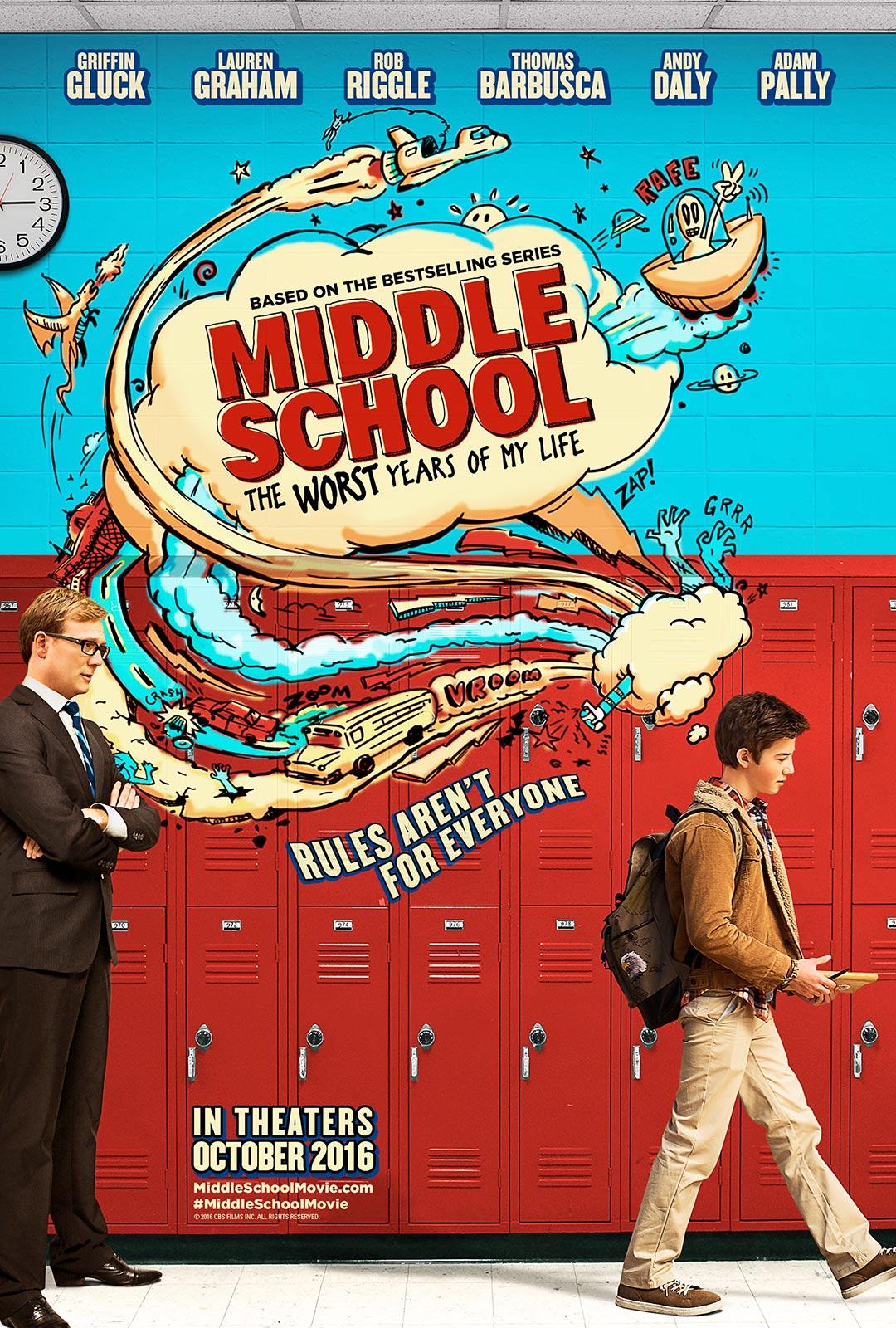 Middle school : The Worst Year Of My Life (2016) โจ๋แสบ แหกกฏเกรียน