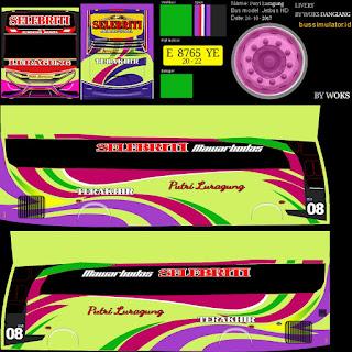 Download Livery Bus Putri Luragung