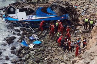 Peru bus accident