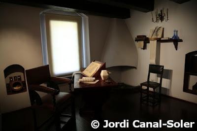 Estudio en la casa de Copérnico en Torun