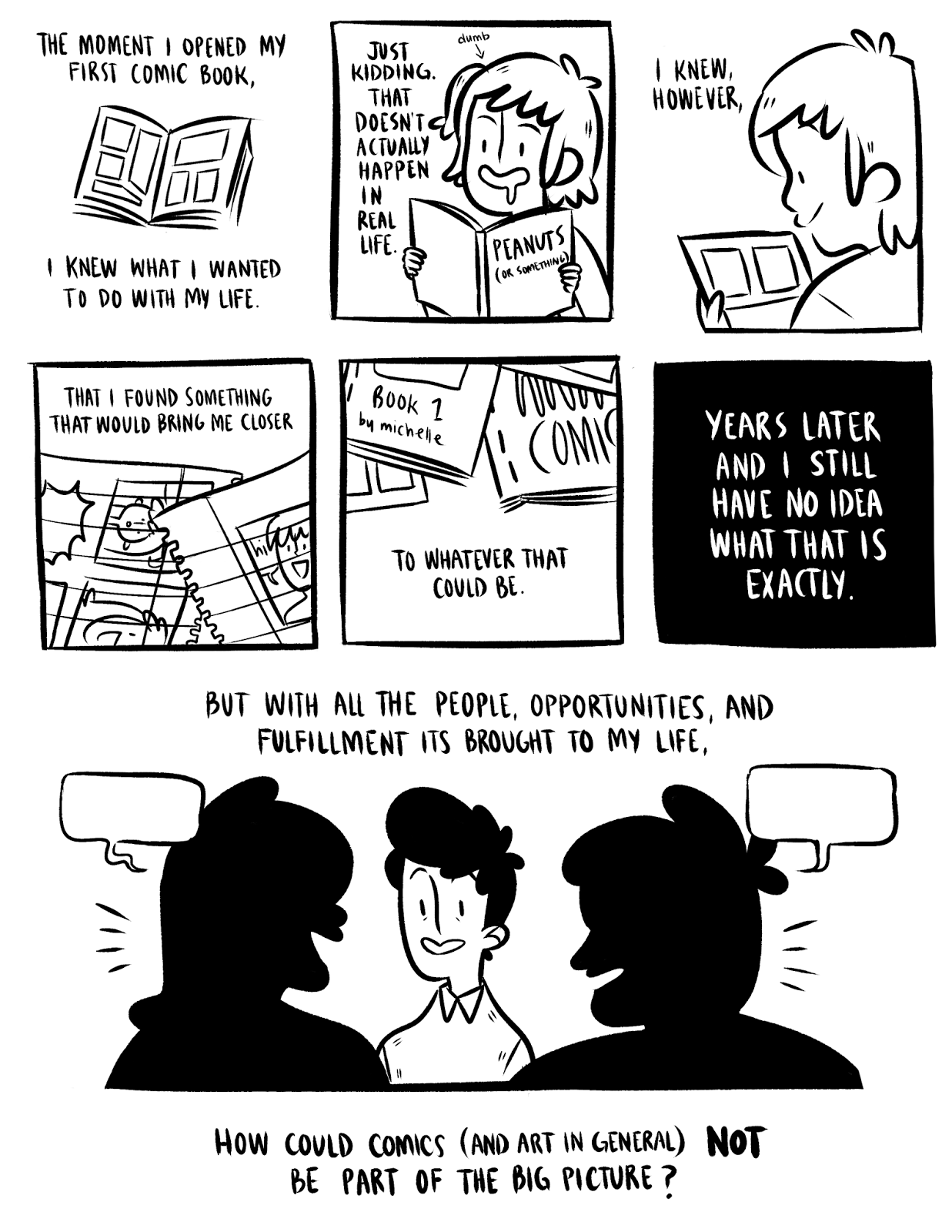 A Comic on Transformation and Self-Discovery ~ The Thing