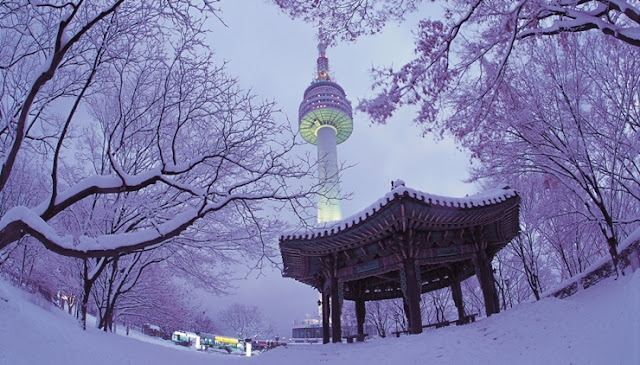 winter korea