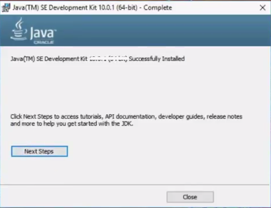 Java Runtime Environment Screenshot3