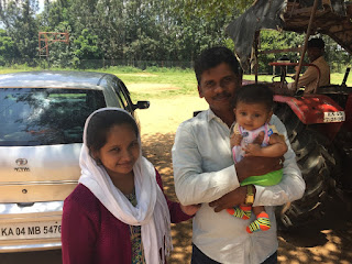 John Mark with his wife (Namita) and son (Samuel)