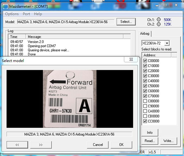 Free download: Ford / Mazda odometer correction tool software