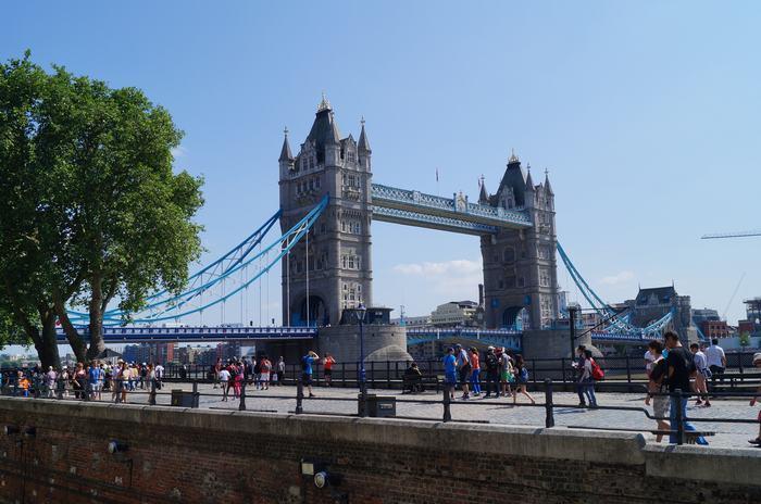 tower bridge desde la torre de londres