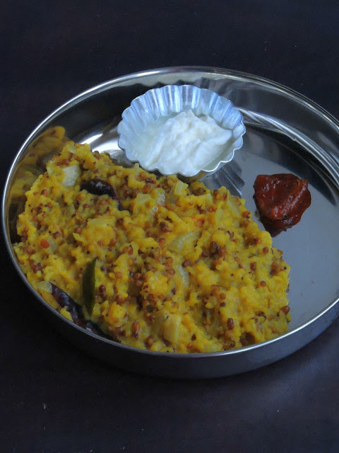 One pot Meal Moth Beans Khichdi