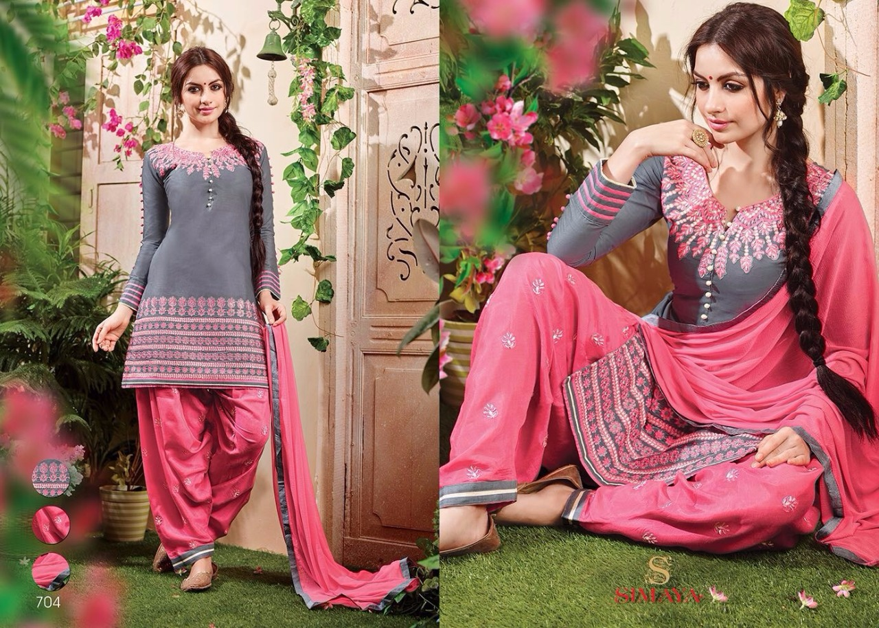 Patiyala-1 – New Arrival Cotton Dress Material
