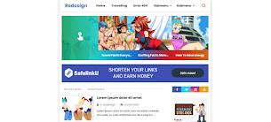 Redesign Mini Pro Responsive Blogger Template - Responsive Blogger Template