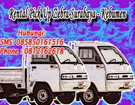 Rental Pick Up Zebra Surabaya - Kebumen