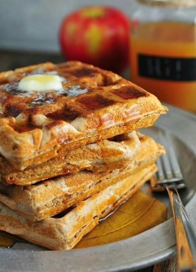 9. Apple Cider Waffle