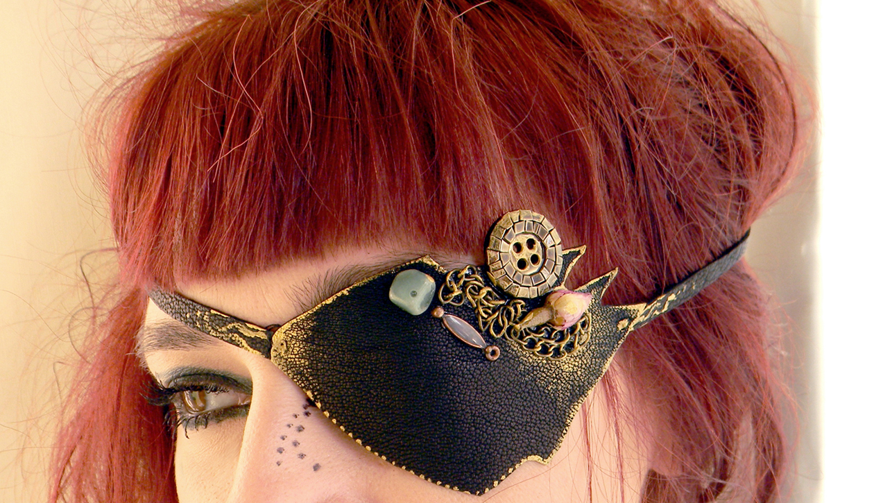 Pirate Eye Patch Eyewear Steampunk Gothic All Seeing Eye