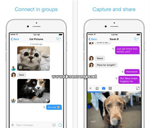Kik Messenger para iOS gratis