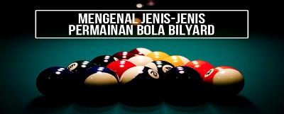 6 Model Permainan Dalam Bermain Bola Billiard