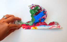 Colorful Paper Plate Bird Craft to make with all kids!
