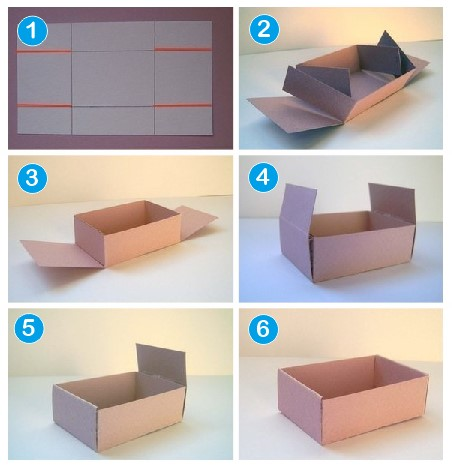 Cara Membuat Kotak Kado Dari Kardus Bekas