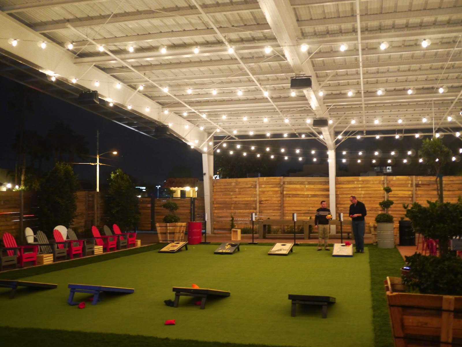 Eat Drink Amp Play At Phoenix S Newest Hangout The Yard