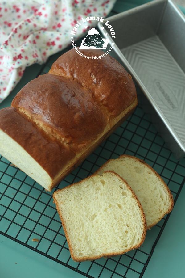 Turning my new favorite bread (Hokkaido soft milk bread) into loaf ...